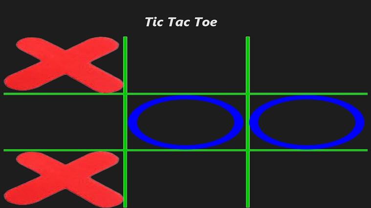 Full strip tic tac toe — 12