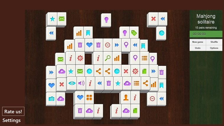 Mahjong Solitaire. classic mahjong