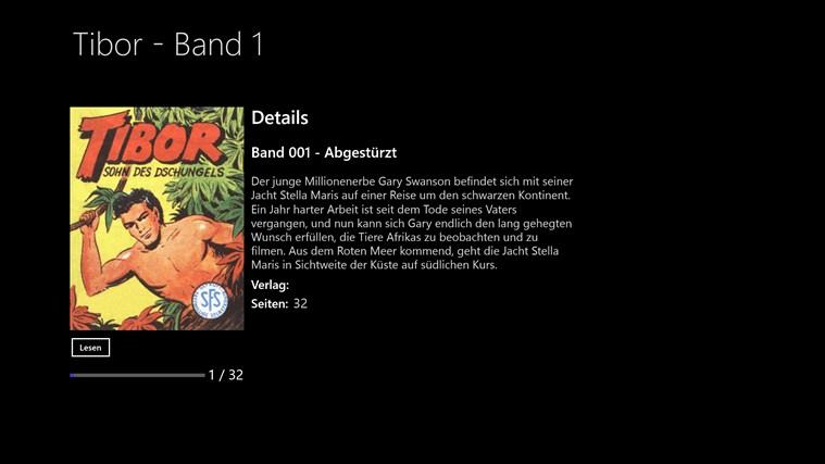TIBOR - SOHN DES DSCHUNGELS BAND 001 - ABGESTÜRZT