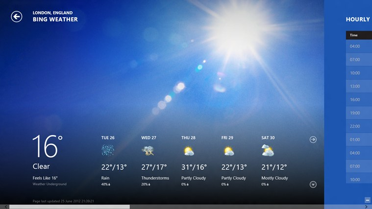 Weather weather