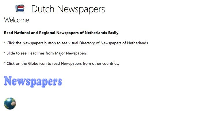 Dutch Newspapers newspapers
