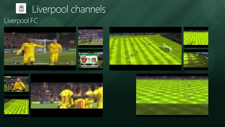 Liverpool channels channels