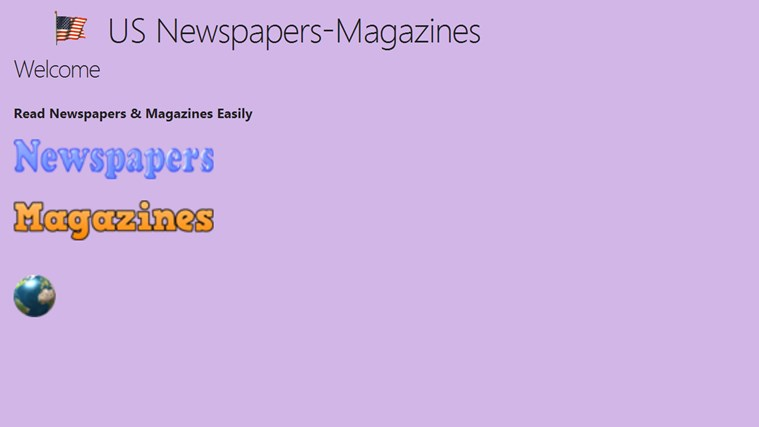 US Newspapers & Magazines newspapers