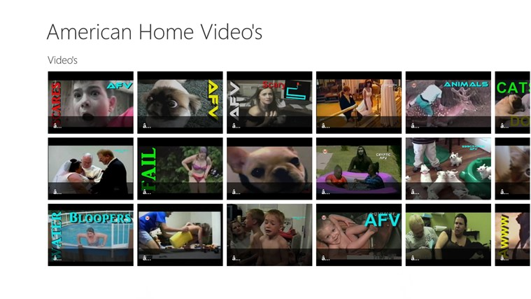 American Home Video - Video's 2 dvd video