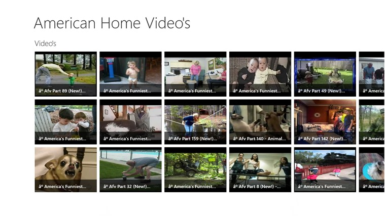 American Home Video - Video's dvd video