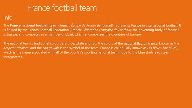 France football team football marcus