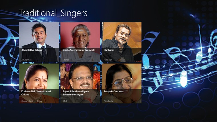 Traditional Singers
