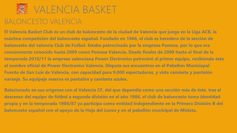 VALENCIA BASKET FanHub