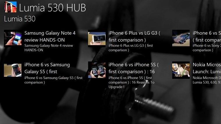 Lumia 530 HUB lumia