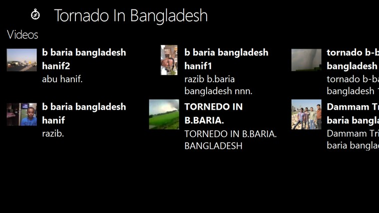 Tornado In Bangladesh