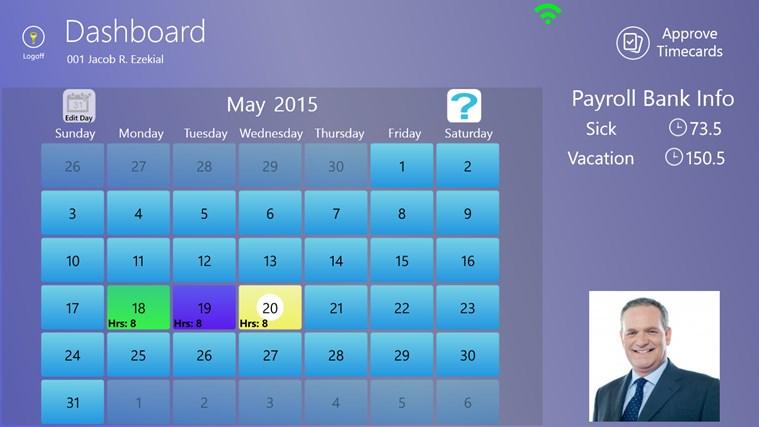 PFA Works Timecard