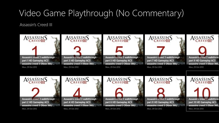 Video Game Playthrough (No Commentary) playing video
