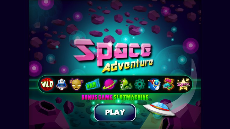 Slot Machine Space Adventure - Casino
