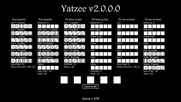 Yatzee2