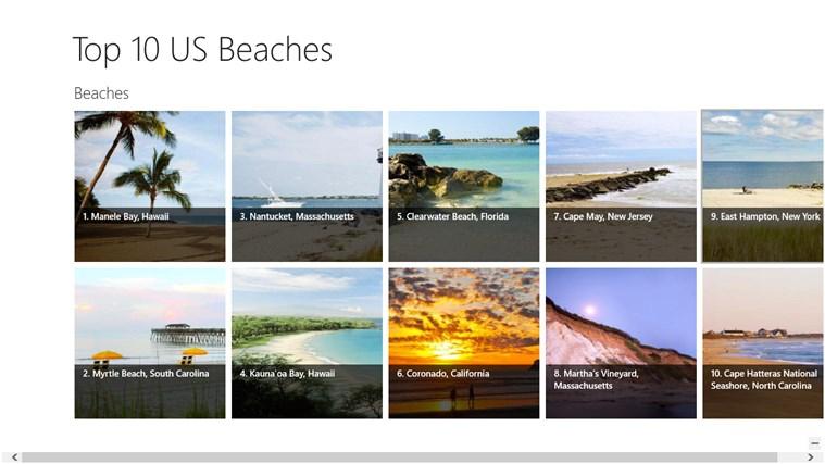Top 10 US Beaches