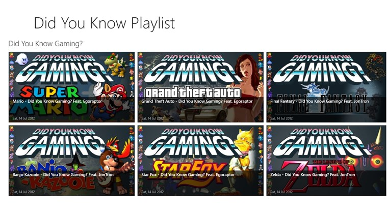 Did You Know? Playlist channels youtube