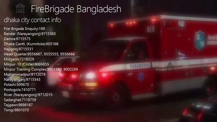 FireBrigade bangladesh