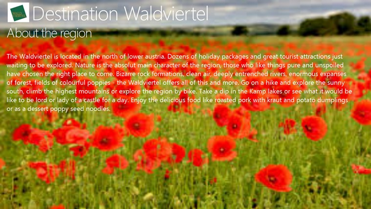 Destination Waldviertel destination