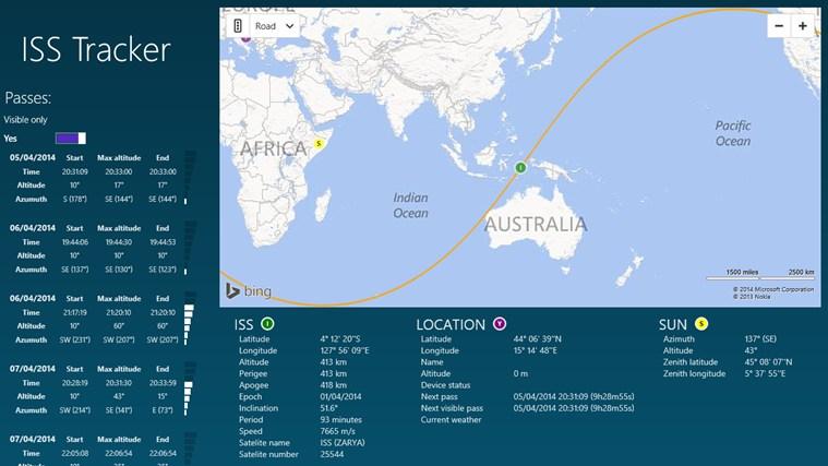 international space station tracker - 759×427