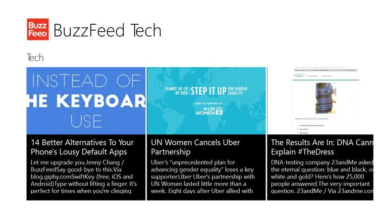 BuzzFeed Tech