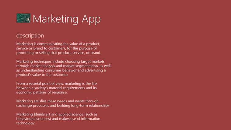 Marketing App marketing ministries