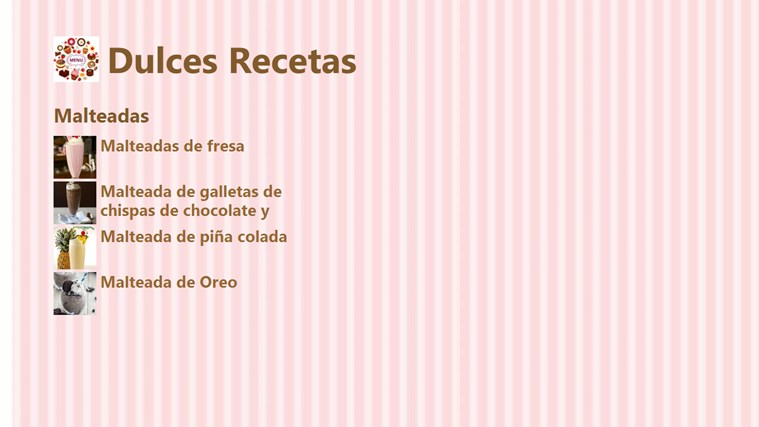 Dulces Recetas