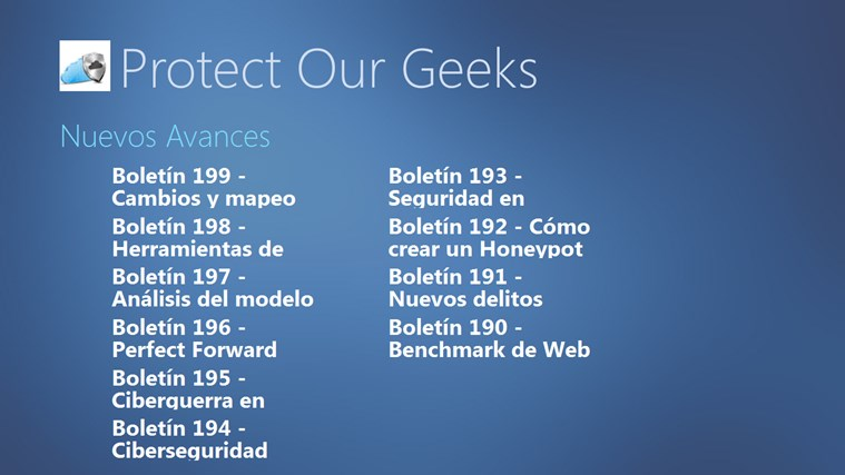 Protect Our Geeks