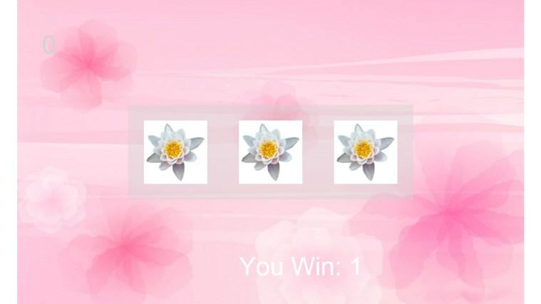 slots of flowers