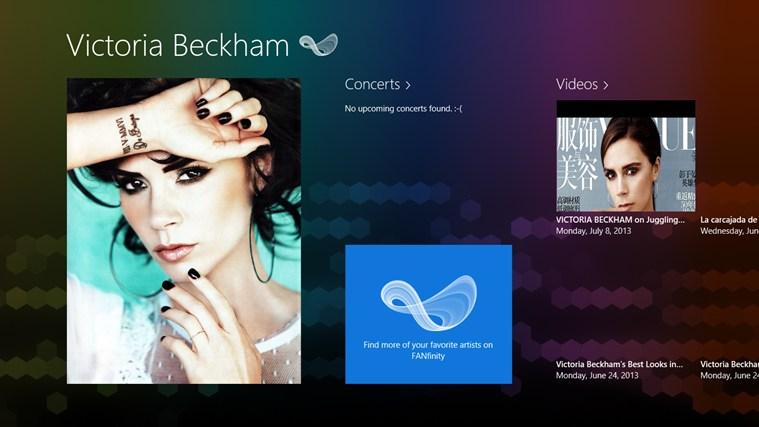 Victoria Beckham FANfinity beckham united