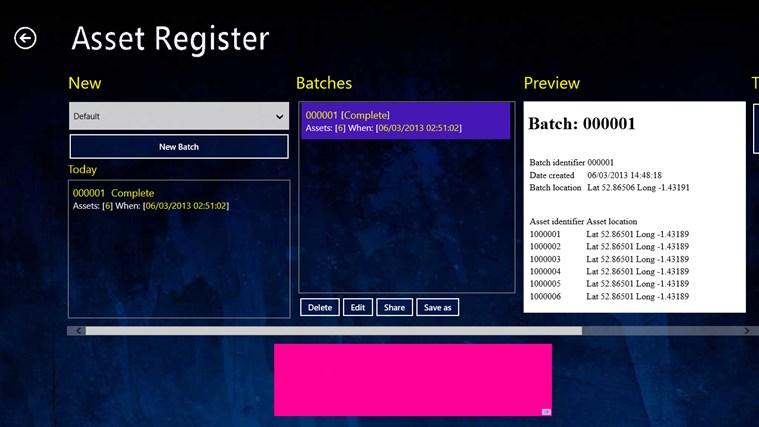 asset register高清图片