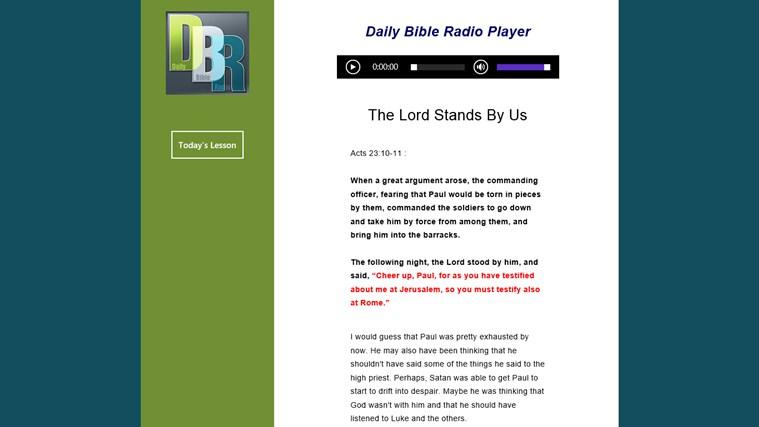 Daily Bible Radio bible marcus