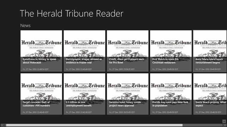 The Herald Tribune Reader tribune world