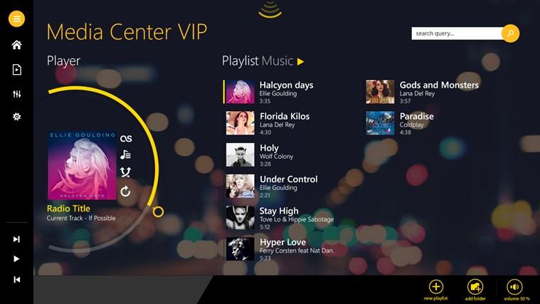 Media Center VIP dvd media