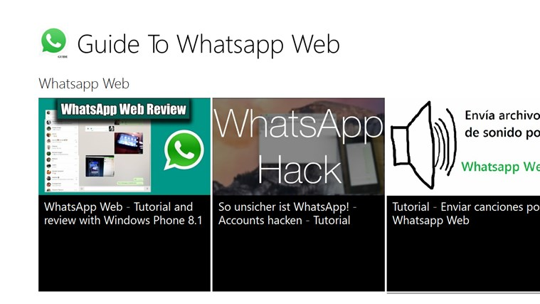Guide To Whatsapp Web