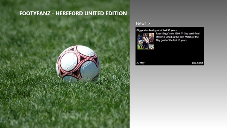 FootyFanz - Hereford United edition