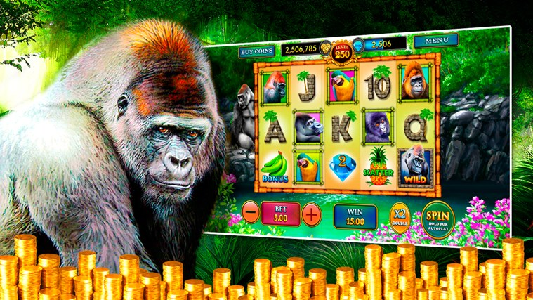 Wild Gorilla - Free Casino Slots - Pokies