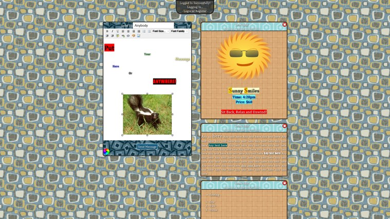 P2P Messenger messenger