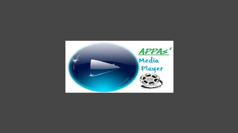 APPAS' Media Player dvd media