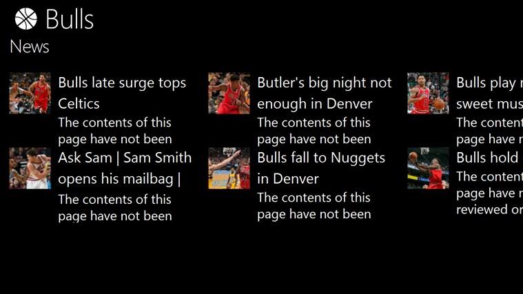 Chicago Bulls News Rss