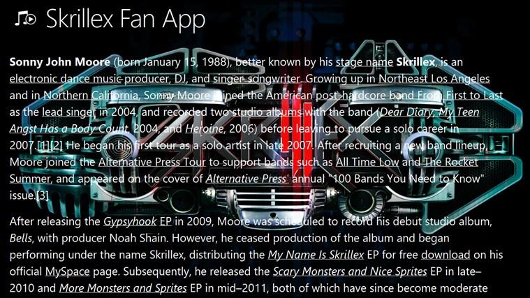 Skrillex Fan App skrillex youtube