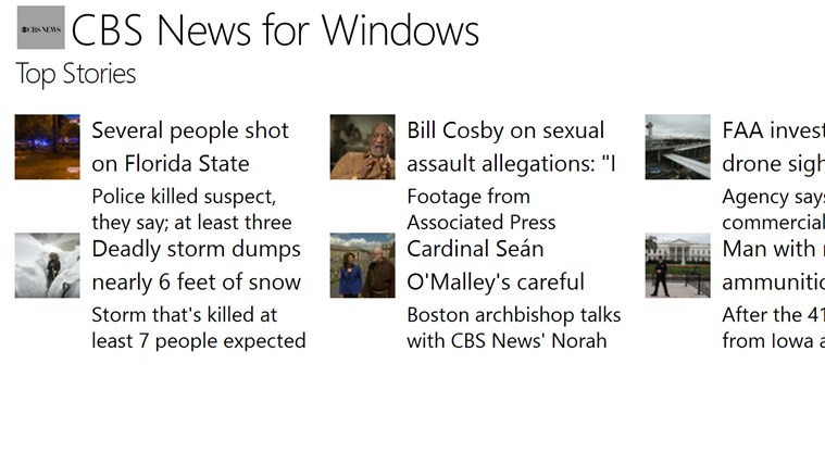 CBS News for Windows