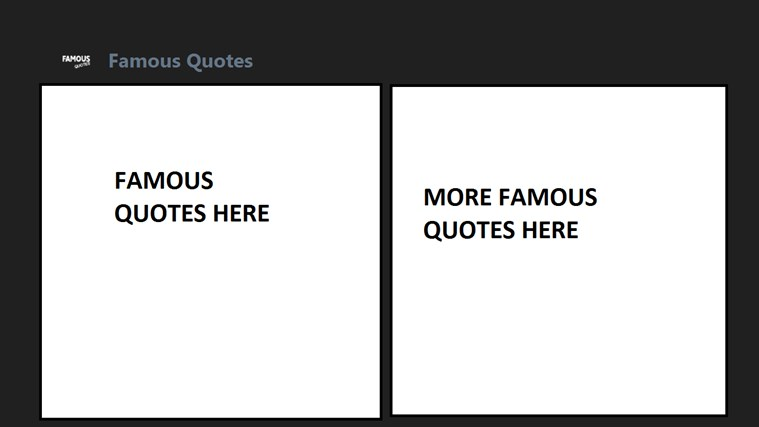 Famous Quotes APP *FREE*