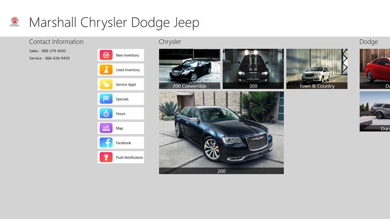 Marshall Chrysler Dodge Jeep