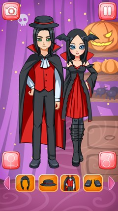 Halloween Couple Dress Up Pro