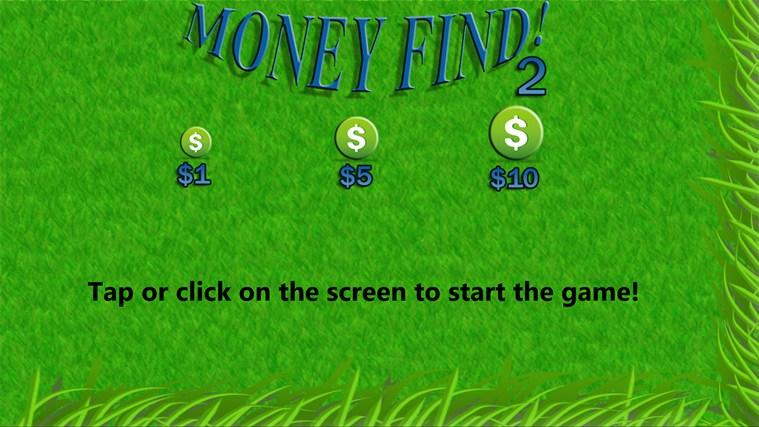 Money Find 2 money tutorial