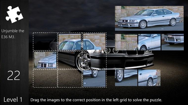 BMW E36 M3 Puzzle puzzle
