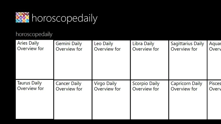 horoscopedaily