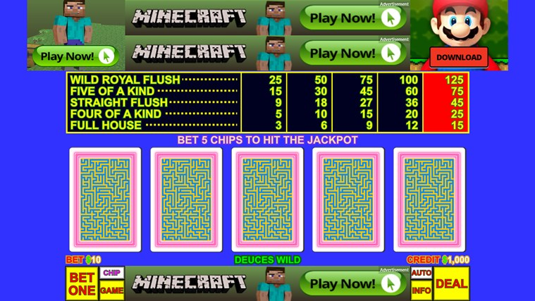Dividend Video Poker
