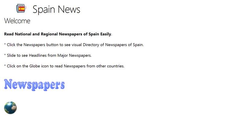 Spain News newspapers