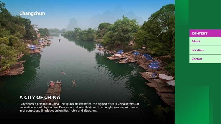 Changchun City cities video